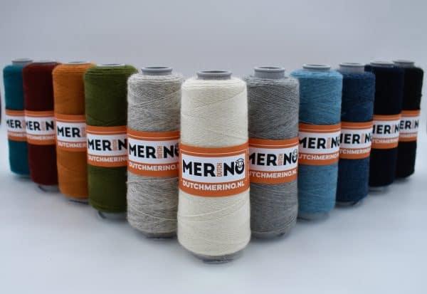 DutchMerino merinowollen garen 16/2 diverse kleuren