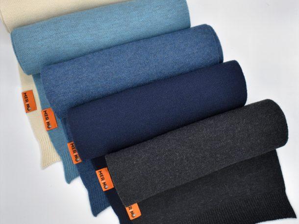 DutchMerino Merinowollen sjaals in diverse kleuren
